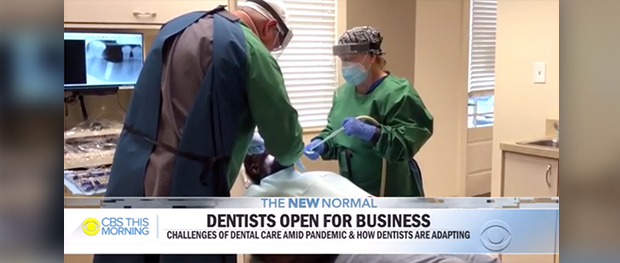 CBS Coverage of Dental Office Openings